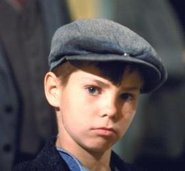 NLD-19830826-AMSTERDAM:  Danny de Munk, een 13 jarige Amsterdamse scholier vertolkt in de film 'Ciske de Rat'. ANPFOTO/ HERMAN PIETERSE.